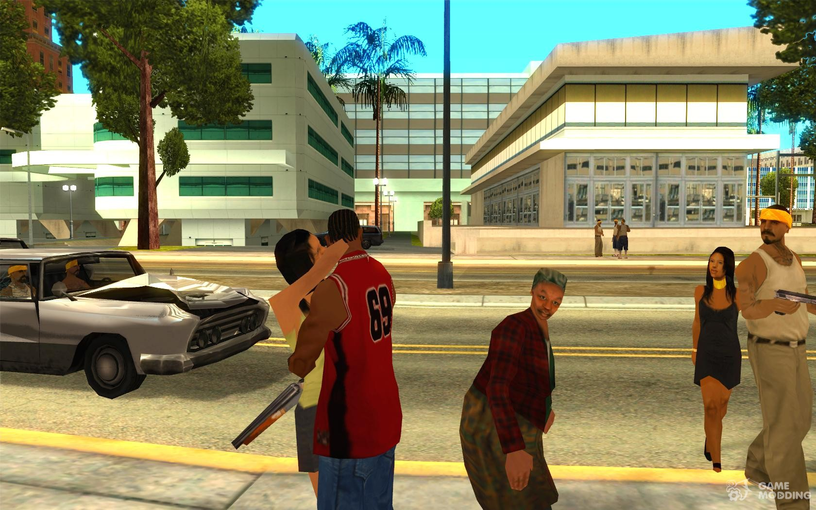 Mod gta san andreas make all girl  xxx image