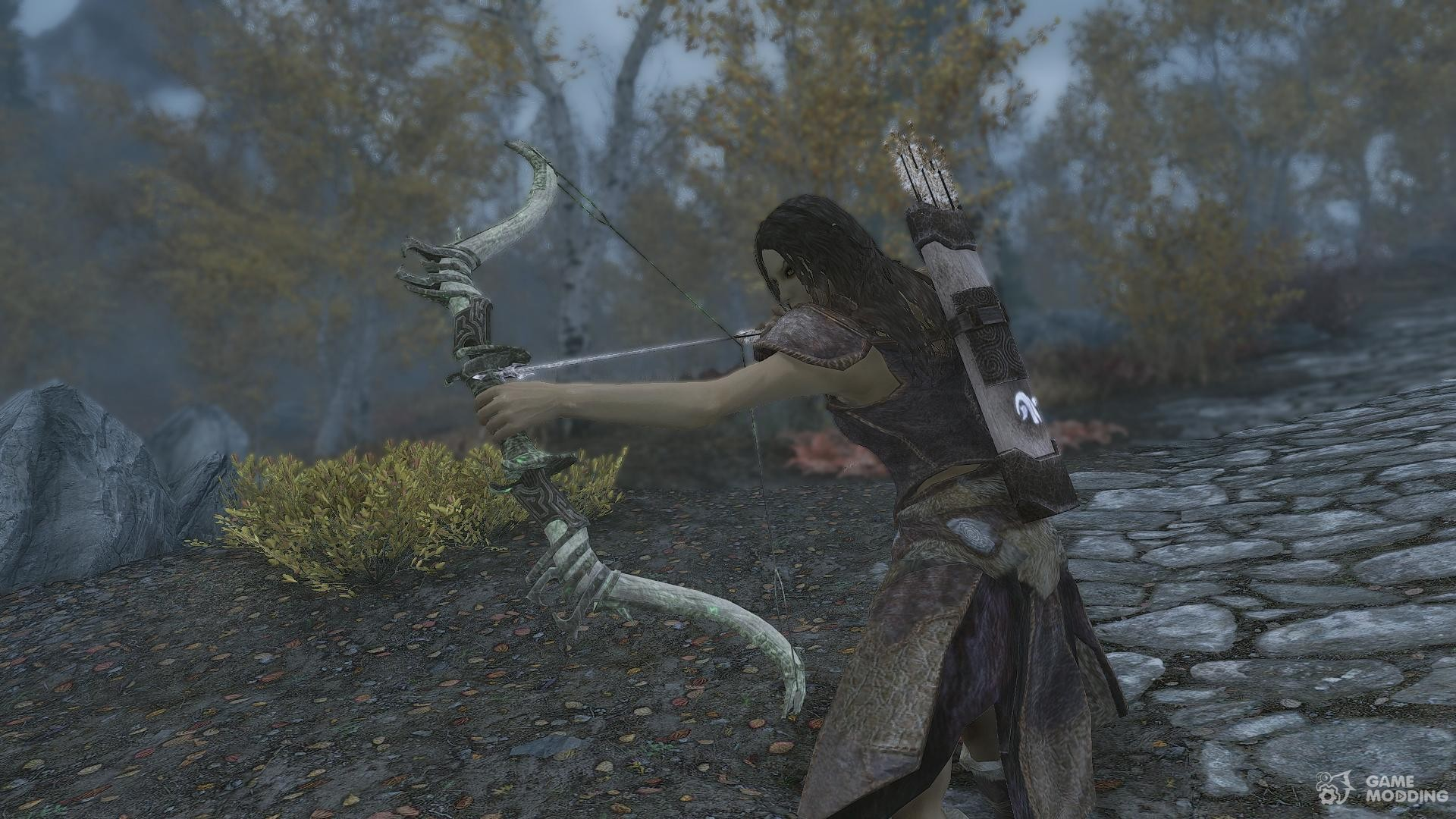 Как сделать эбонитовые стрелы скайриме