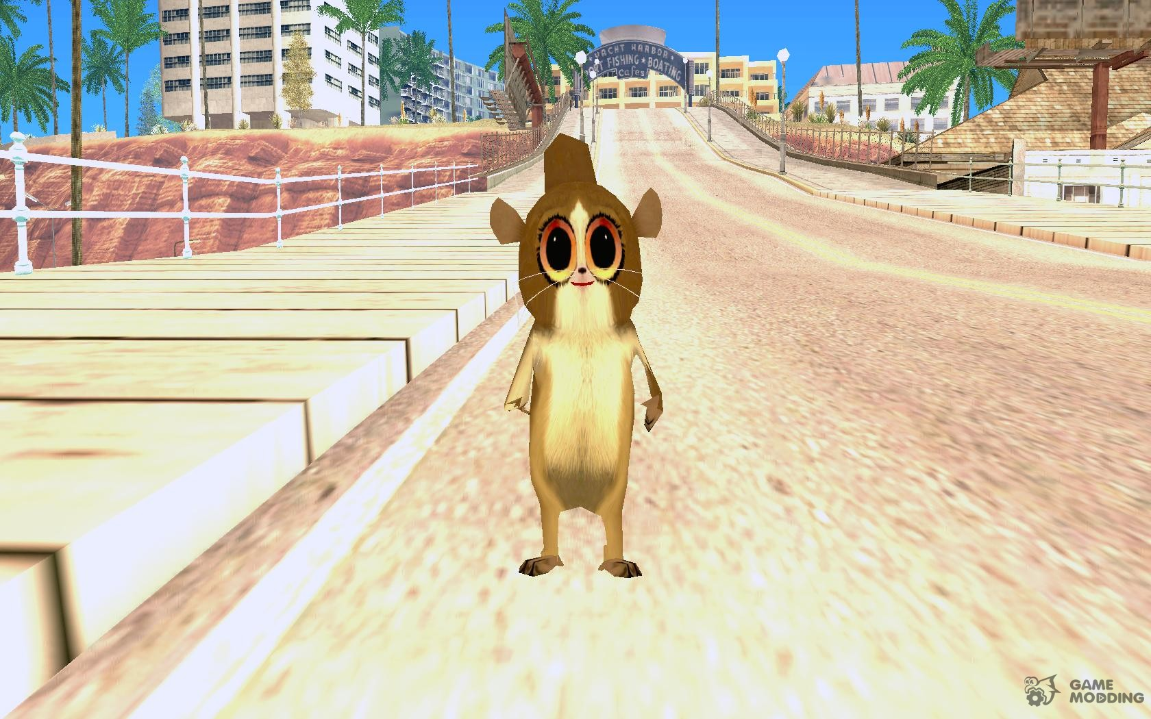 Mort from Madagascar for GTA San Andreas