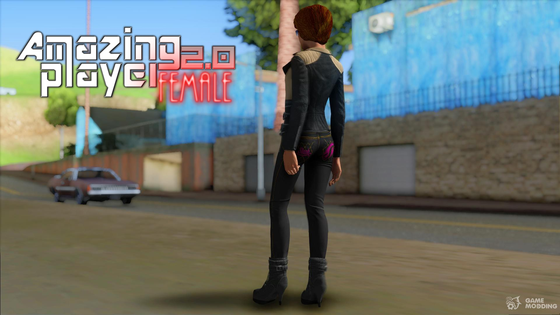 Amazing Female Player 2 0 for GTA San Andreas