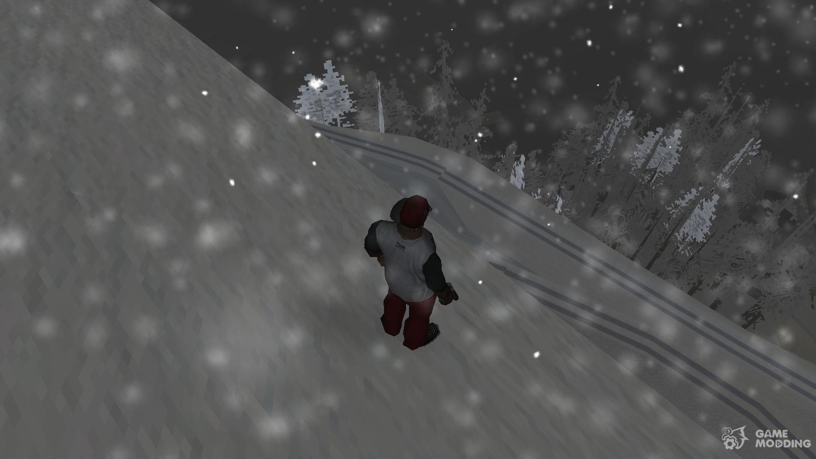 Snow San Andreas VR 4 0 for GTA San Andreas