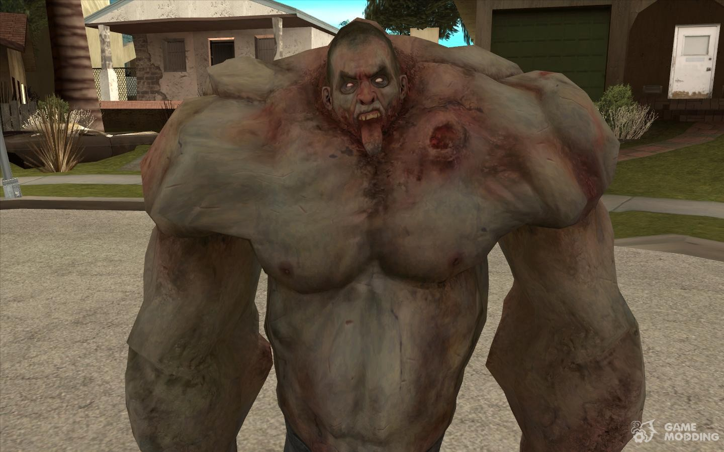 From Left 4 Dead tank for GTA San Andreas