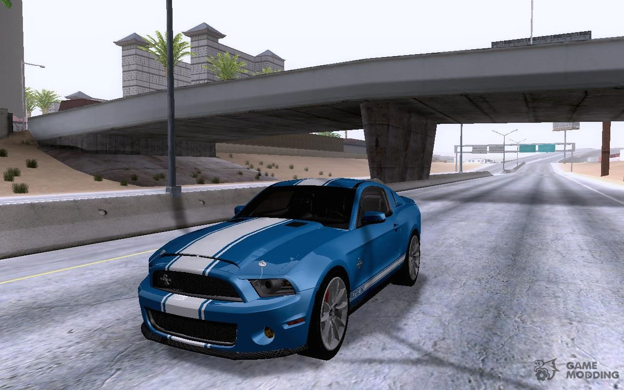 ford shelby gt500 super snake 2011 for gta san andreas. Black Bedroom Furniture Sets. Home Design Ideas