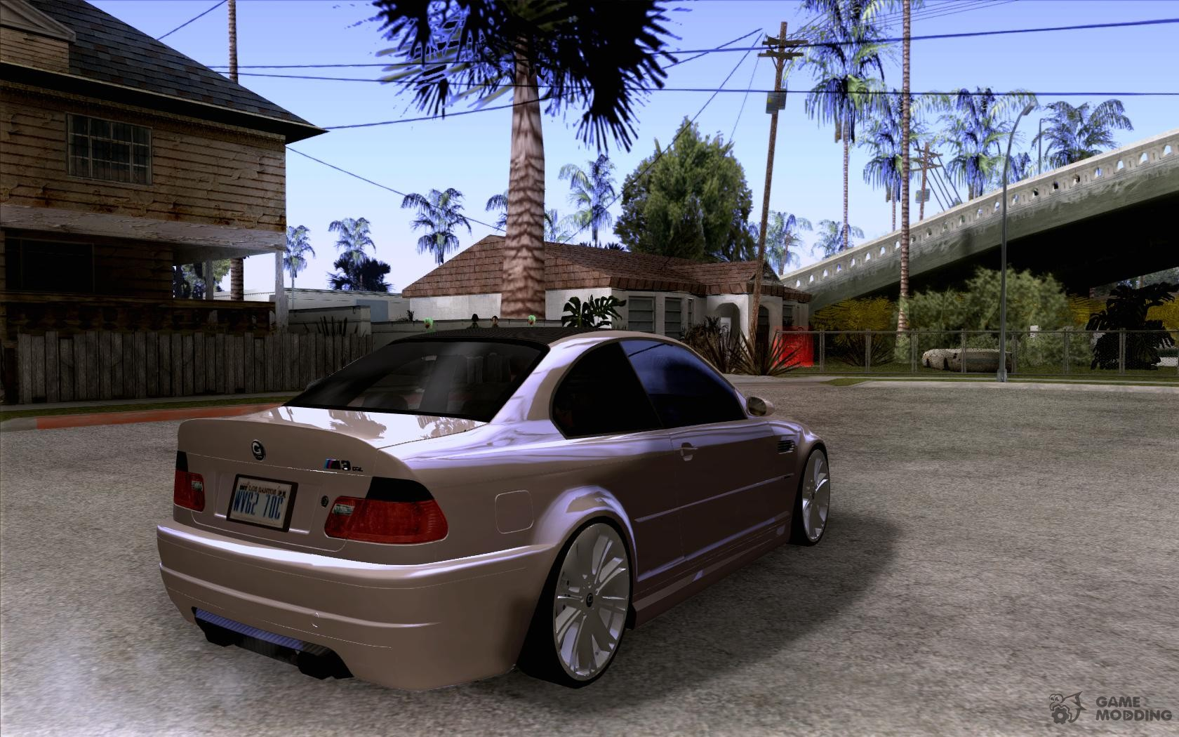 Bmw m3 csl e46 g power for gta san andreas top view