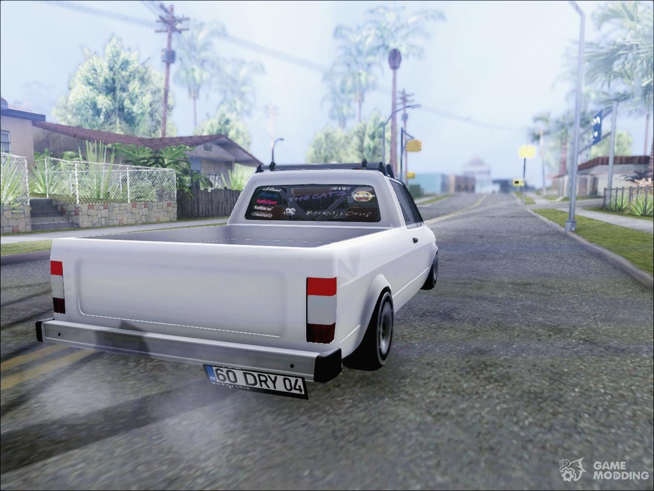 volkswagen caddy dry garage for gta san andreas. Black Bedroom Furniture Sets. Home Design Ideas