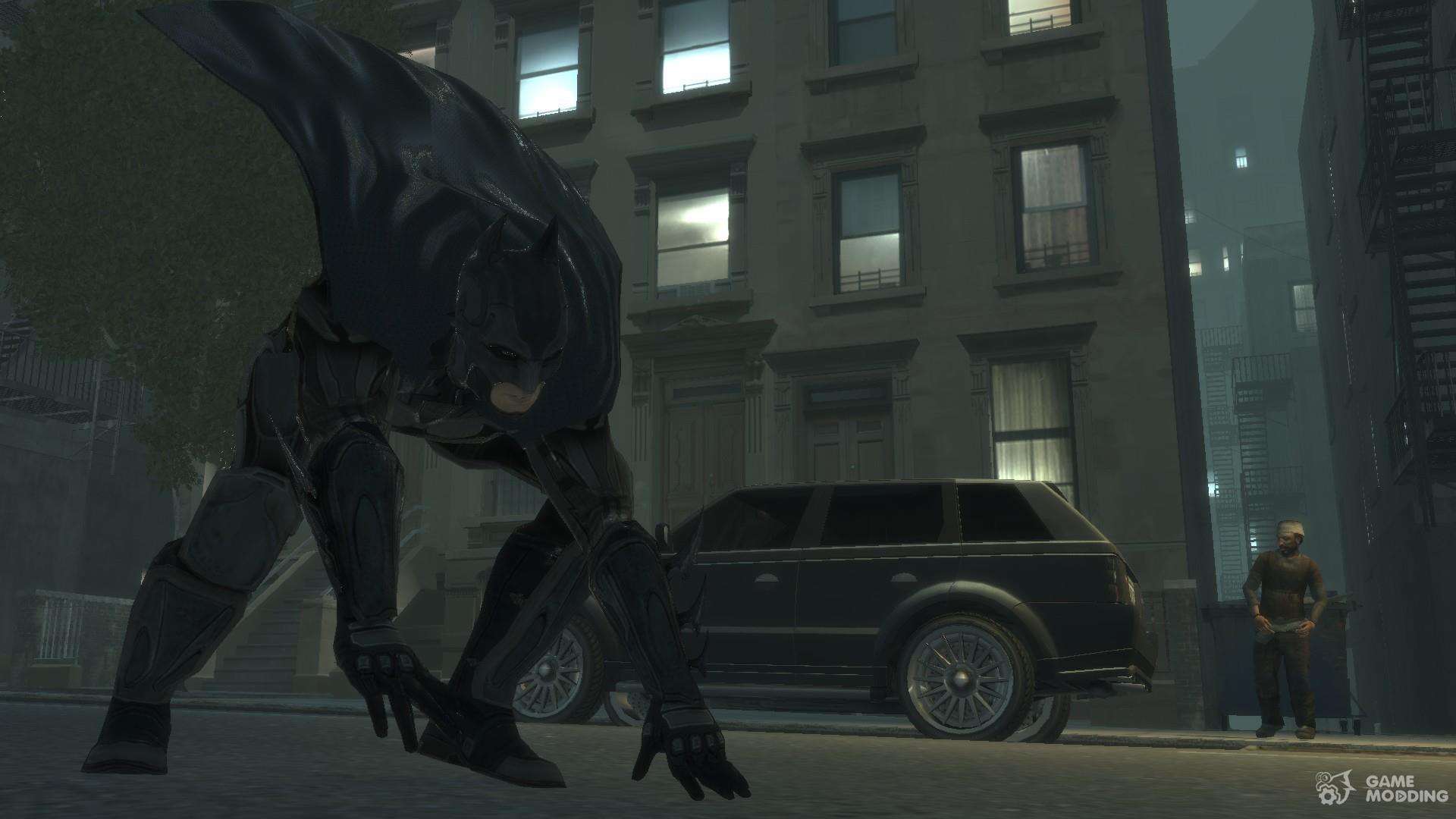 GTA 5,GTAV,GTA IV Mods and Skins: GTA 4 MOD : Batman