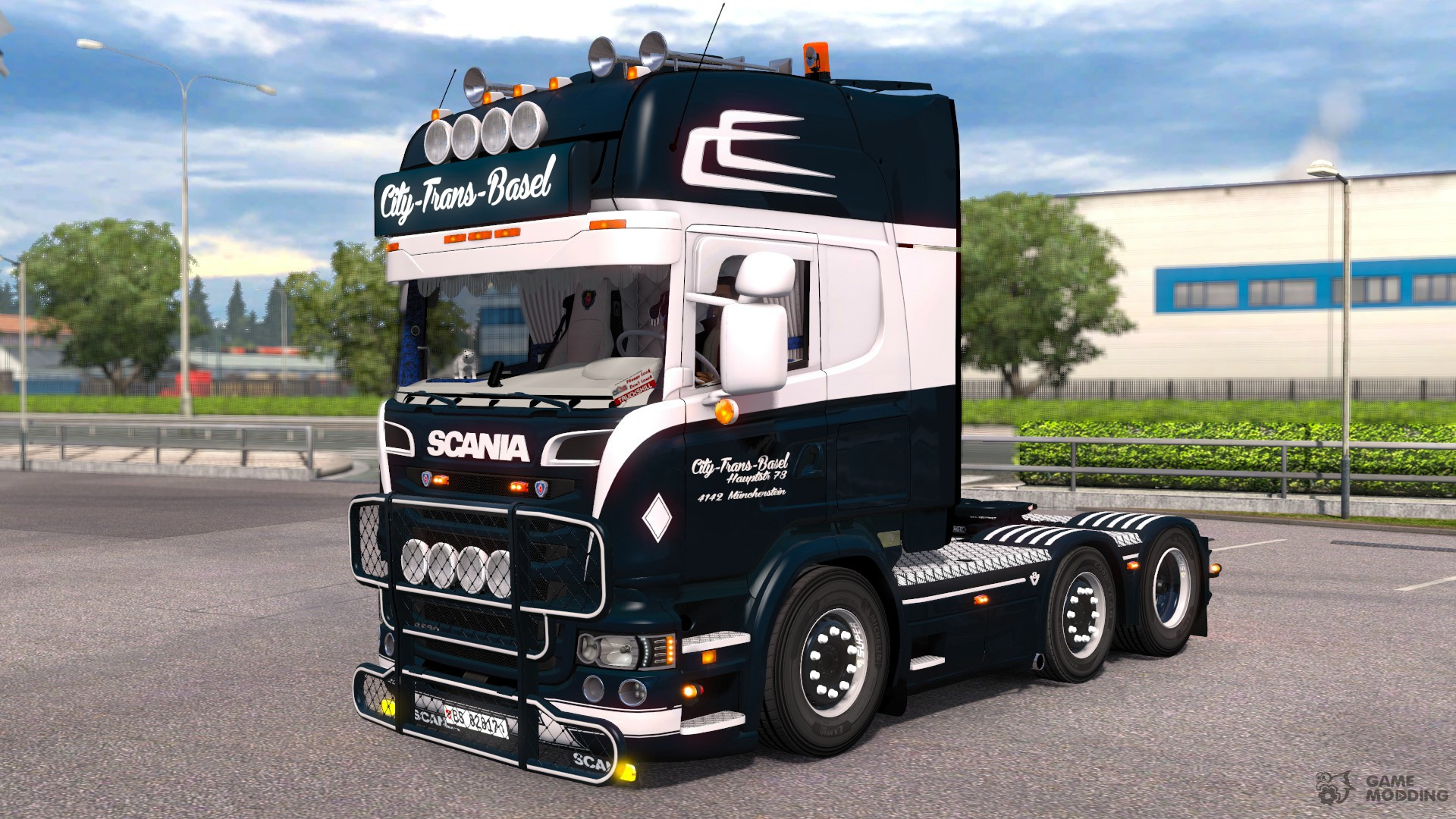 scania r500 city trans basel for euro truck simulator 2. Black Bedroom Furniture Sets. Home Design Ideas