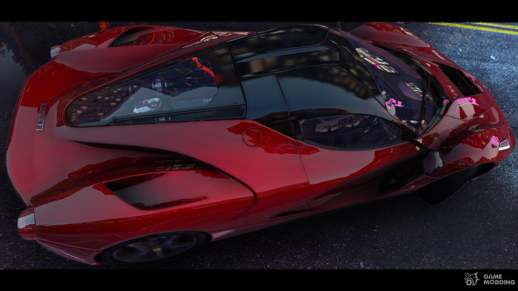 Ferrari Laferrari 2015 For Gta 5