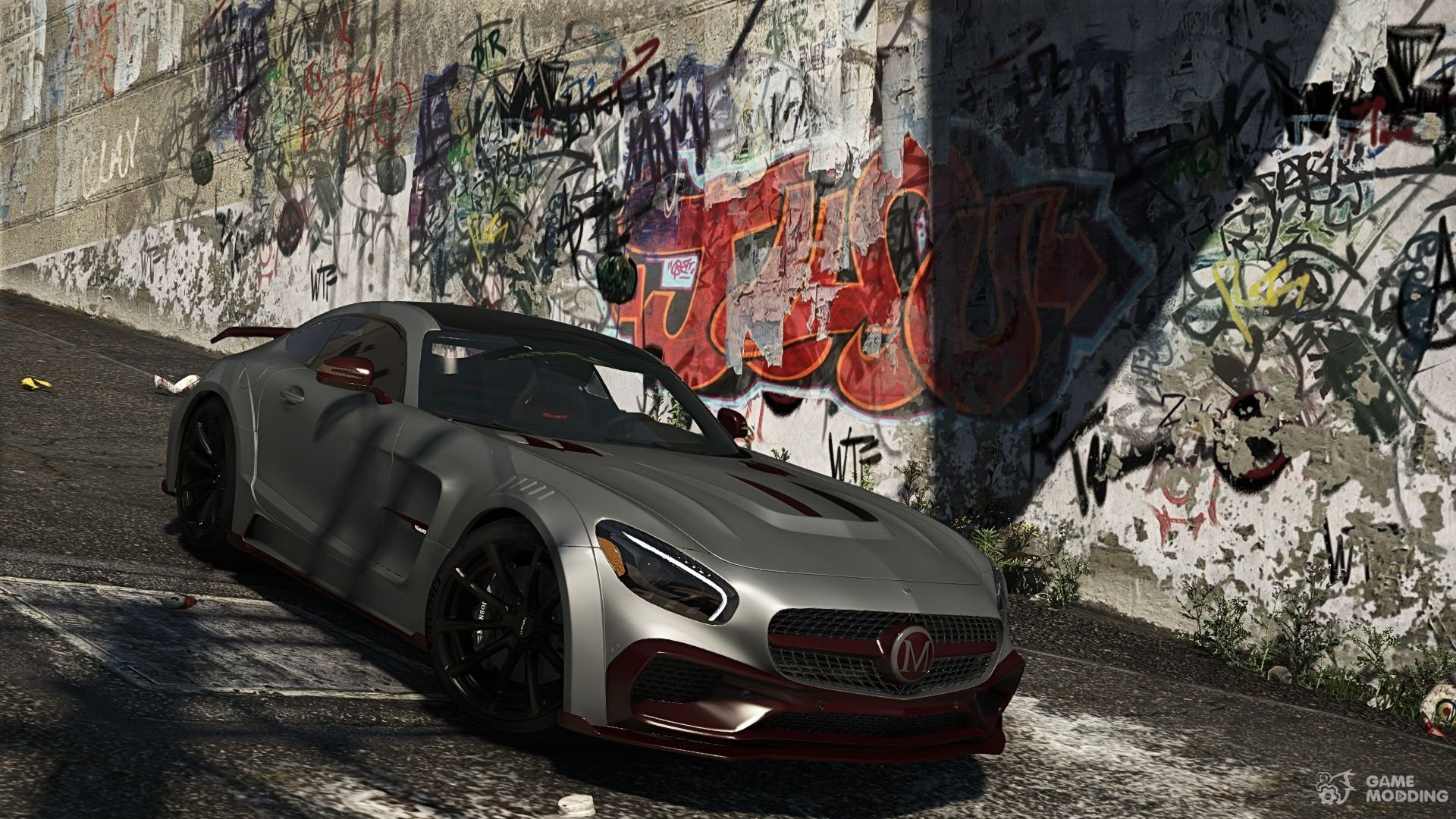 Mercedes Benz Amg Gt S Mansory For Gta 5