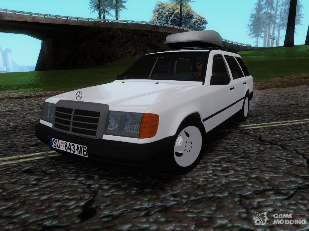 mercedes benz e class w124 kombi for gta san andreas. Black Bedroom Furniture Sets. Home Design Ideas