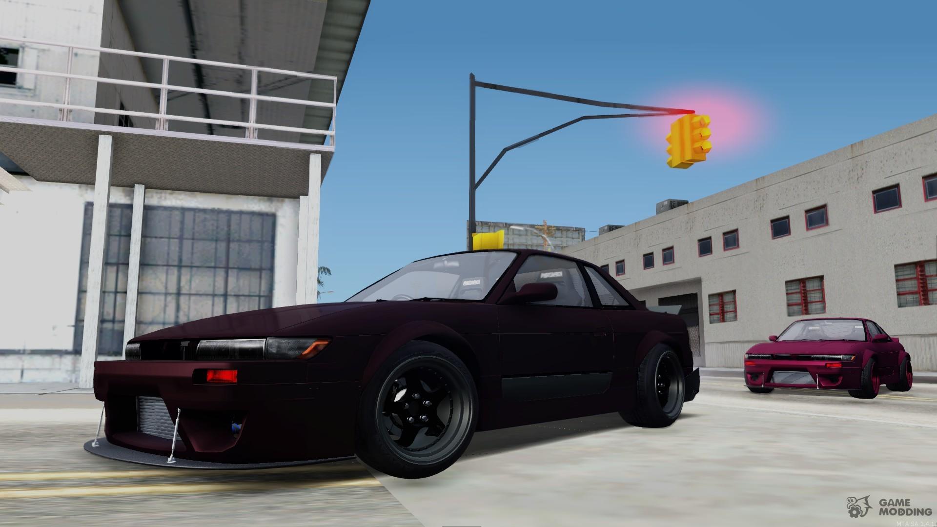 Nissan Silvia S13 Rocket Bunny for GTA San Andreas