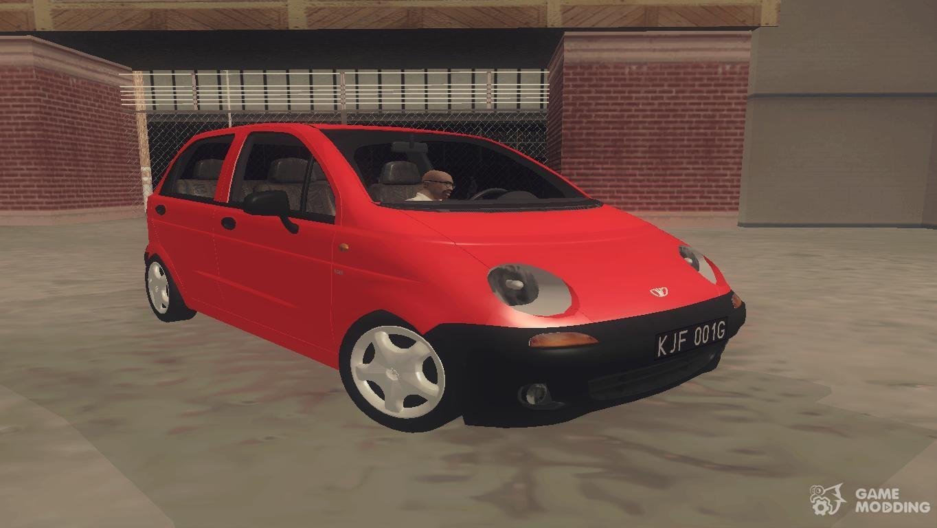 Daewoo Matiz I SE 1998 for GTA San Andreas