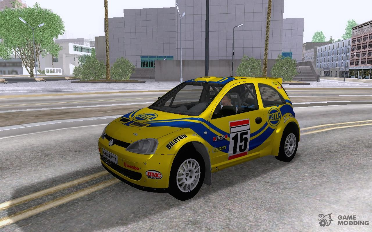 Vauxhall Corsa Rally for GTA San Andreas