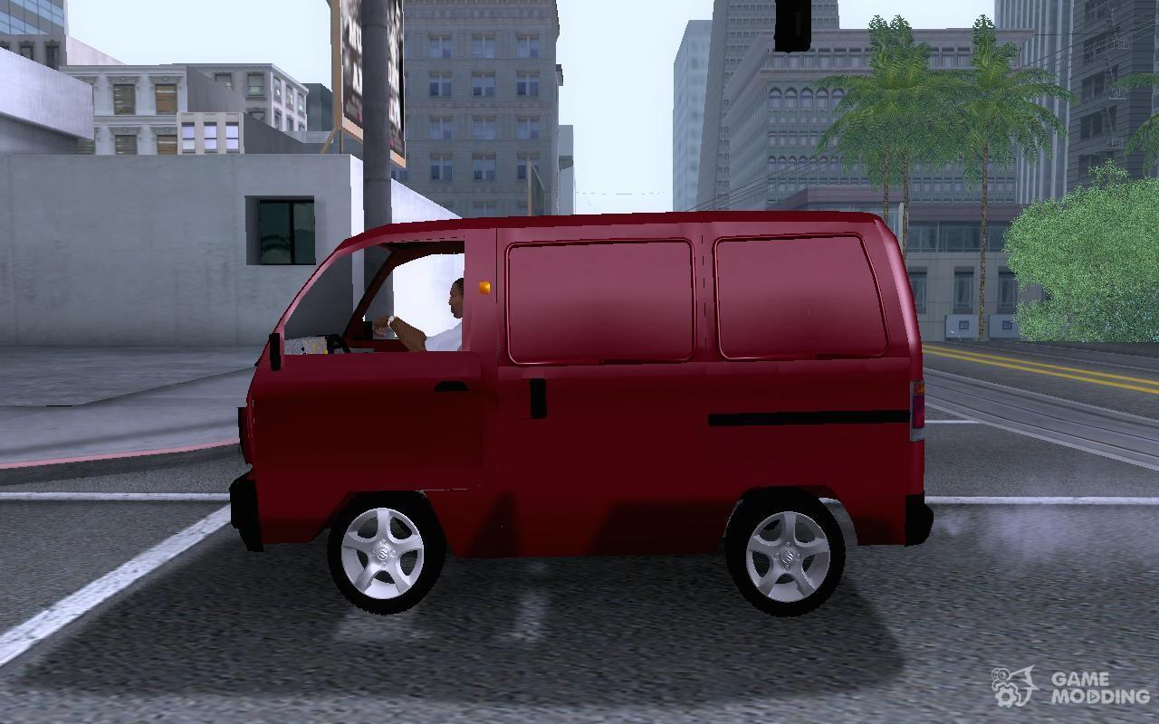 Suzuki Carry Van 1.3 1998 Blind For GTA San Andreas