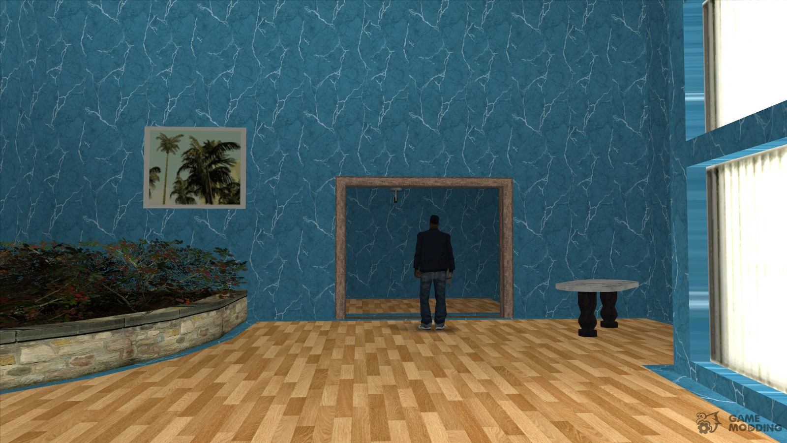 new textures of the interior of the mansion madd dogg for gta san andreas. Black Bedroom Furniture Sets. Home Design Ideas