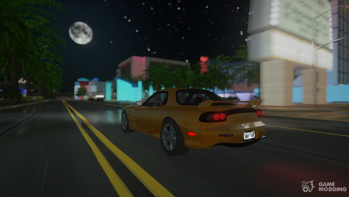 1997 Mazda RX-7 Series III for GTA San Andreas