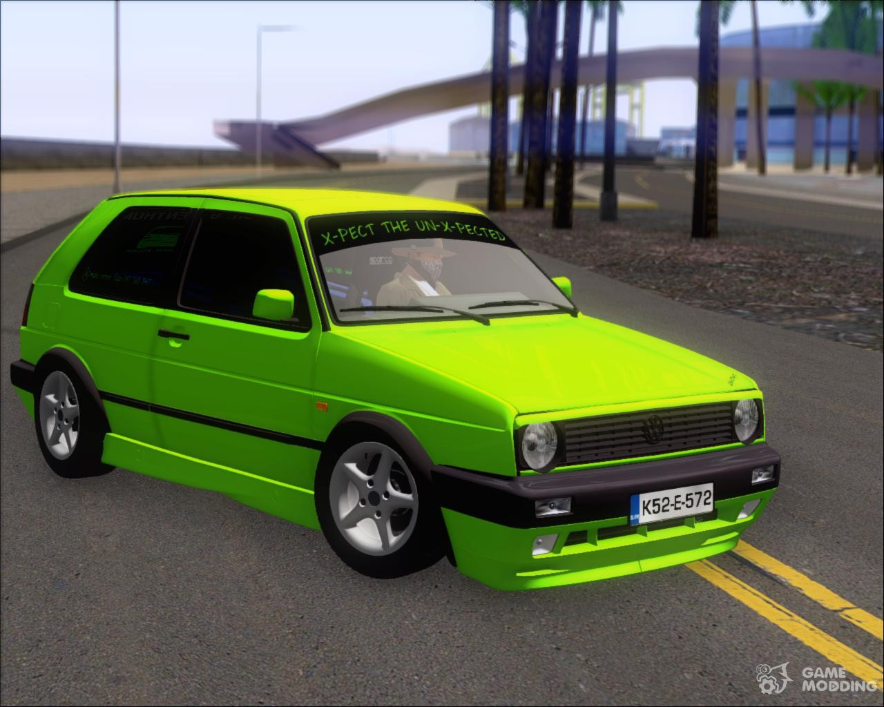 volkswagen golf mkii zelengija tuning a k for gta san. Black Bedroom Furniture Sets. Home Design Ideas