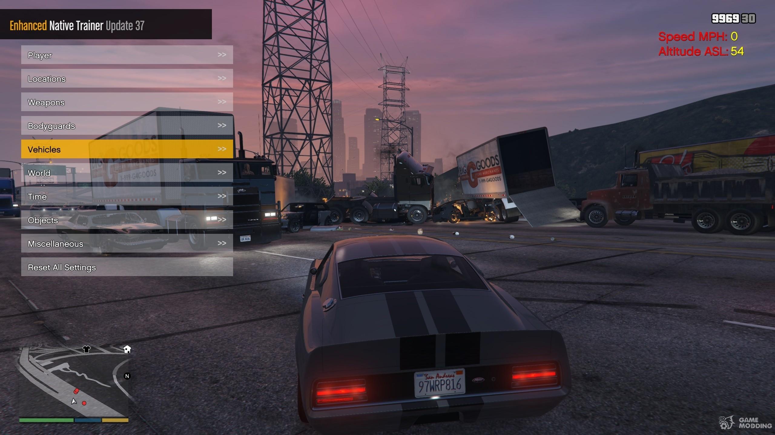Enhanced Native Trainer Update 39 for GTA 5