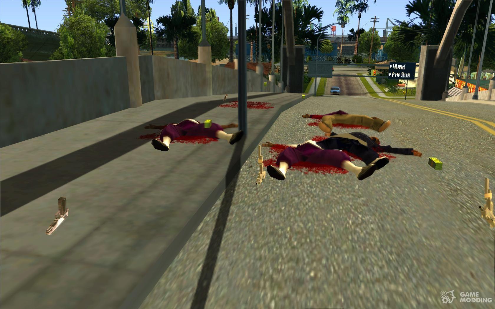 Скачать мод для GTA San Andreas на Бессмертие