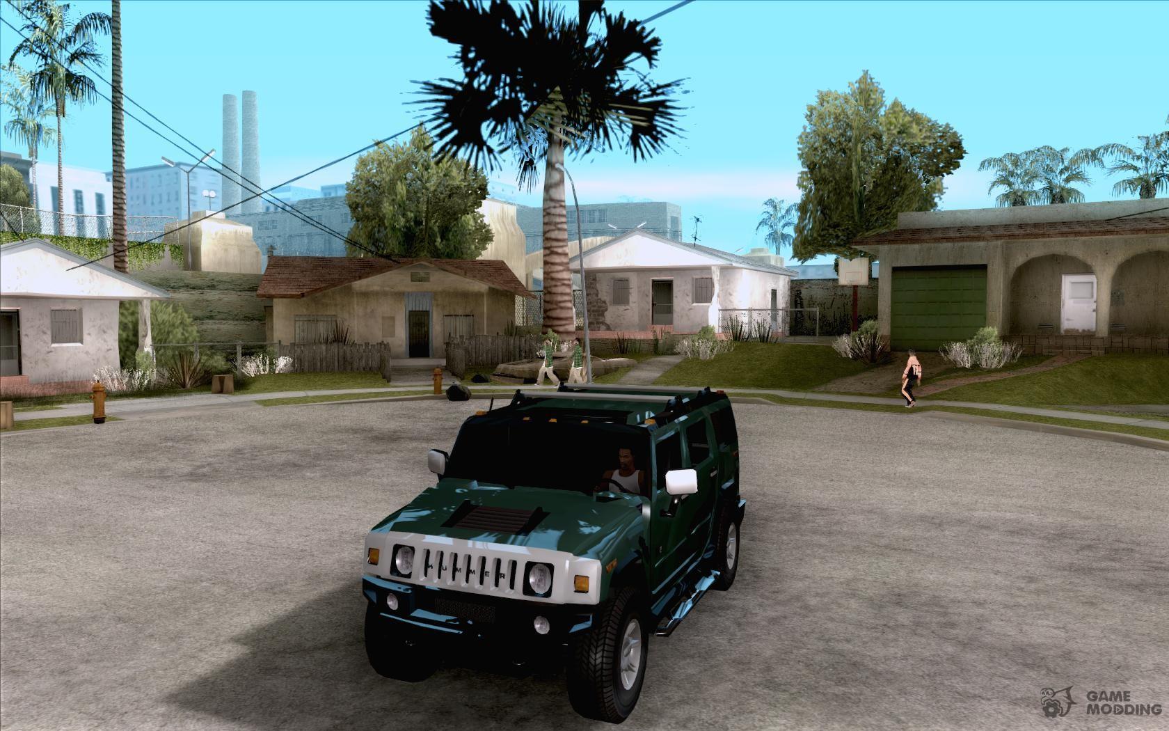AMG HUMMER H12 SUV for GTA San Andreas | amg hummer