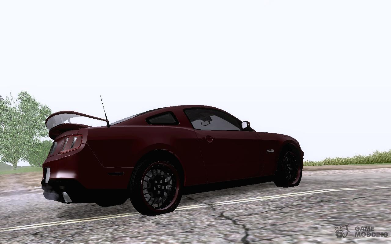 2010 ford mustang gt tuning for gta san andreas. Black Bedroom Furniture Sets. Home Design Ideas