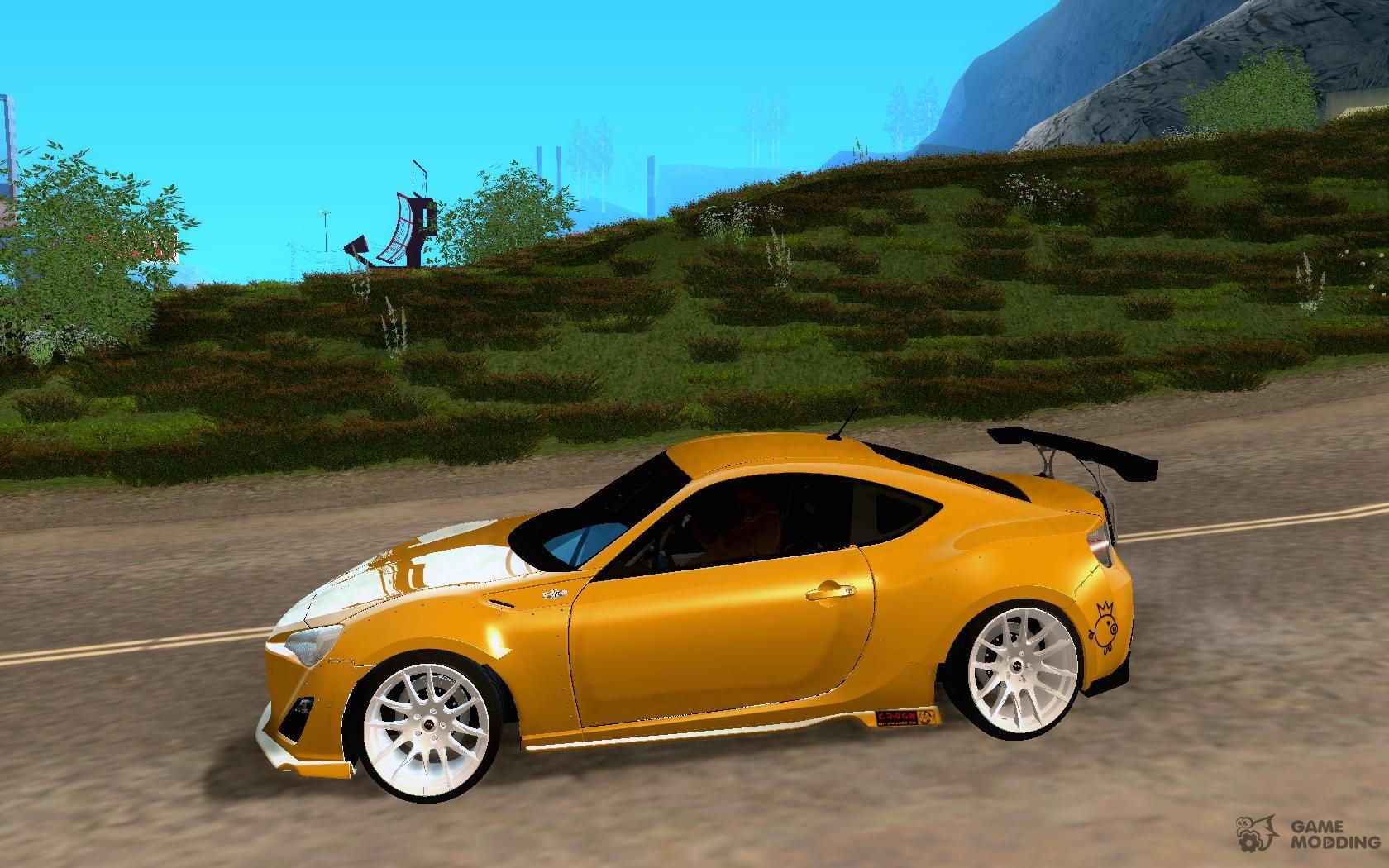 Scion FR S Rocket Bunny v2 for GTA San Andreas