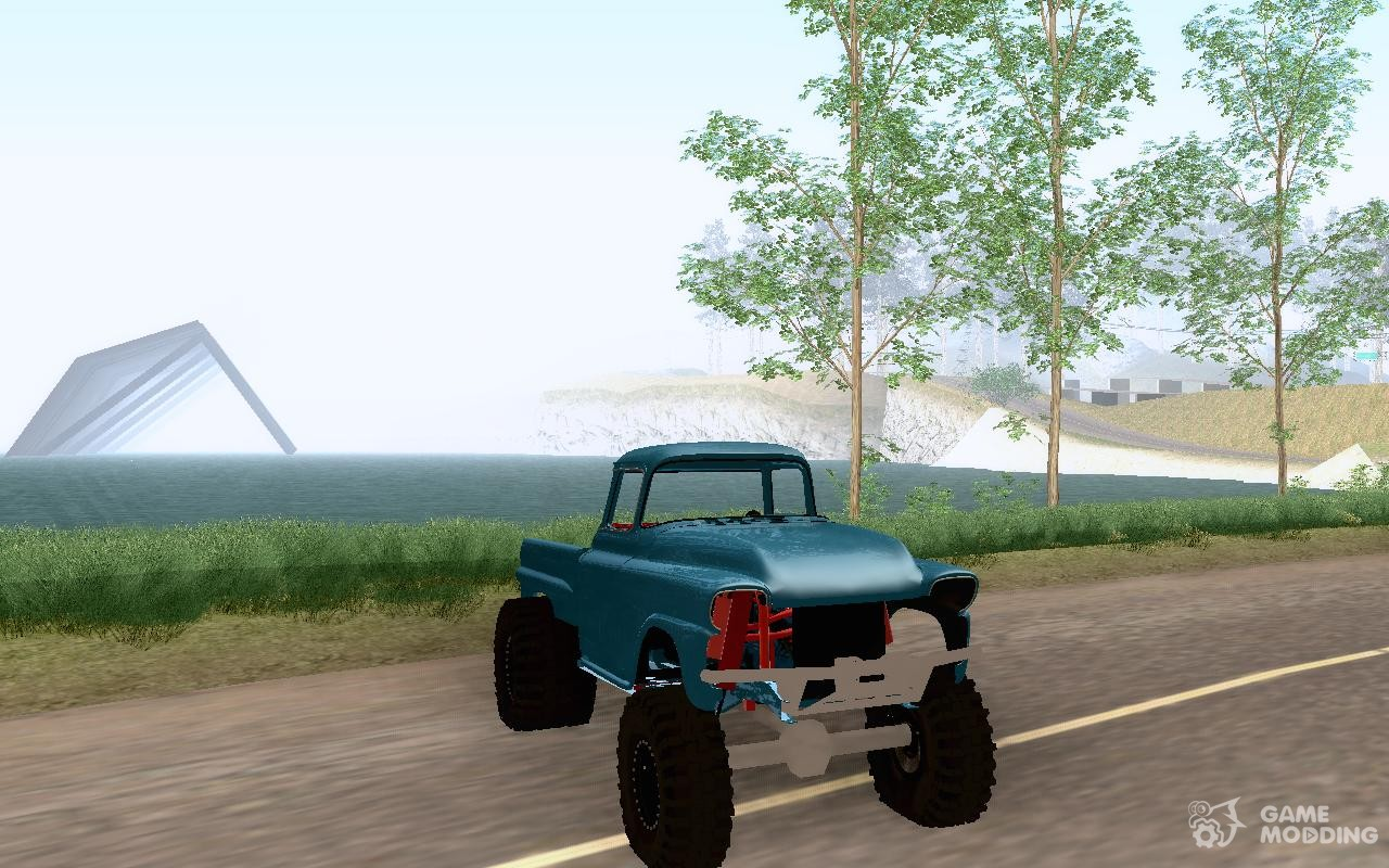 Chevrolet apache off road for gta san andreas top view