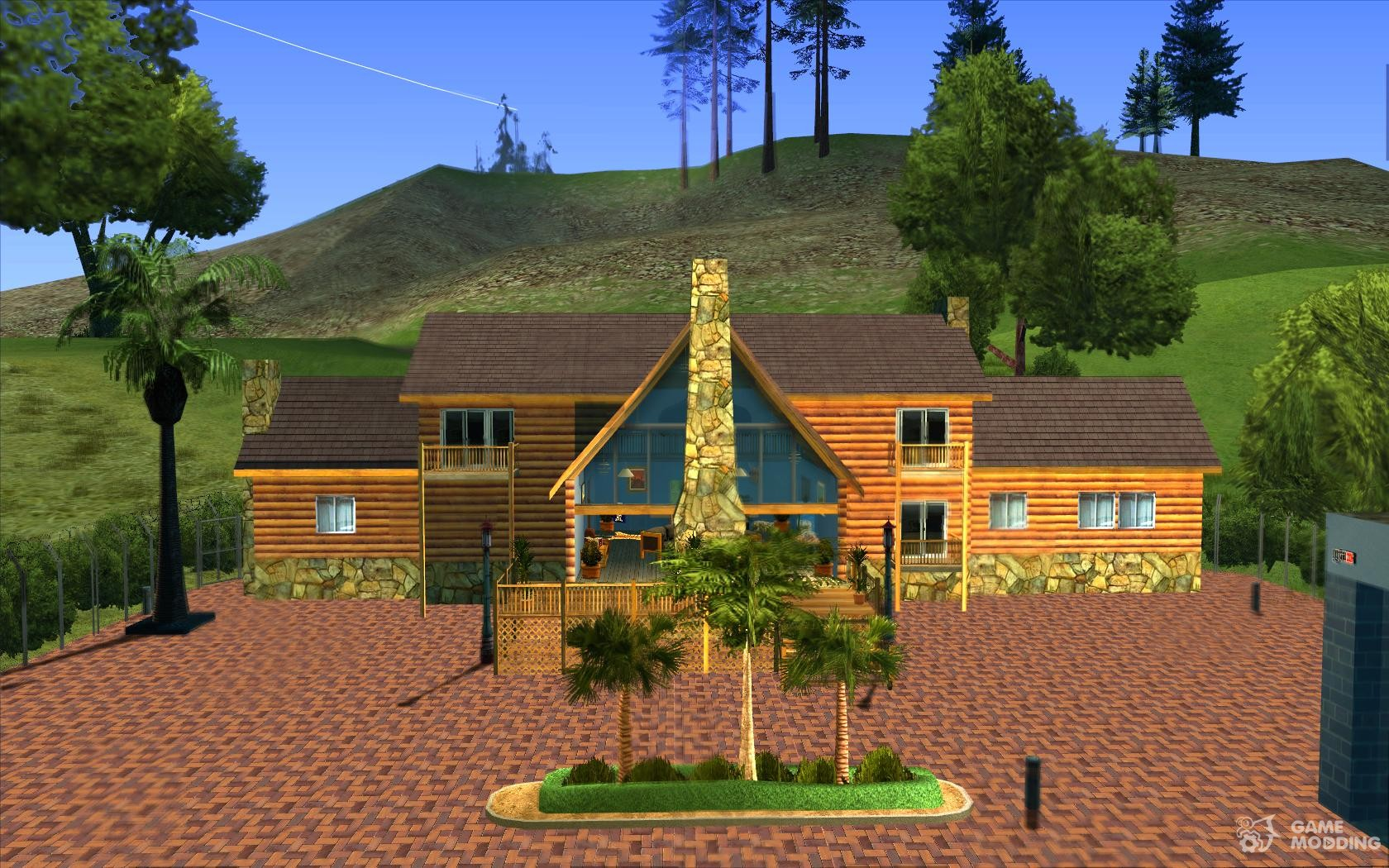 New Villa For Cj For Gta San Andreas