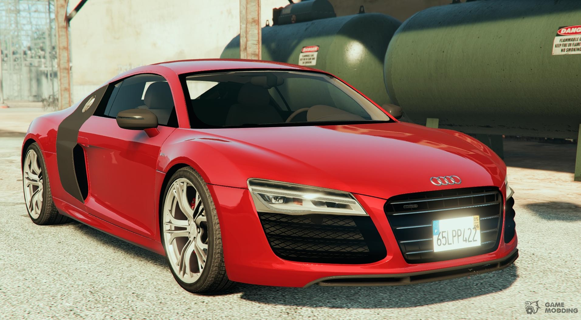 Audi R8 LMS Street Car for GTA 5