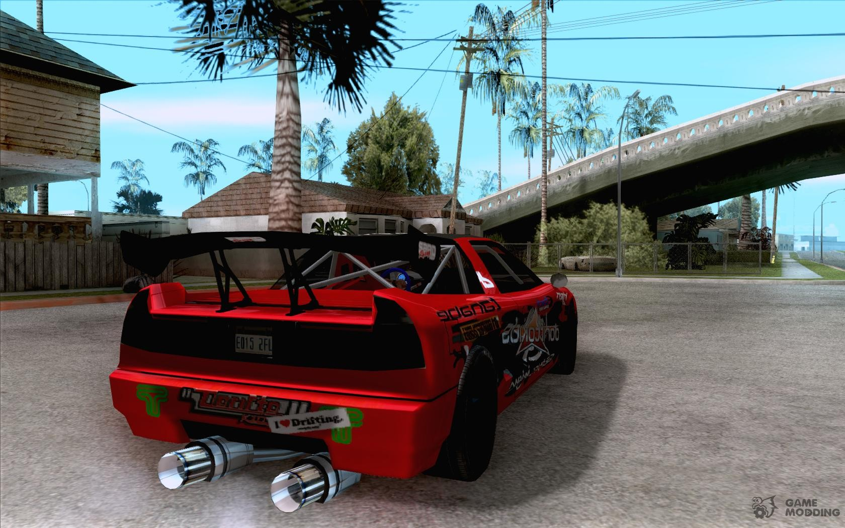 Infernus Drift Edition For Gta San Andreas