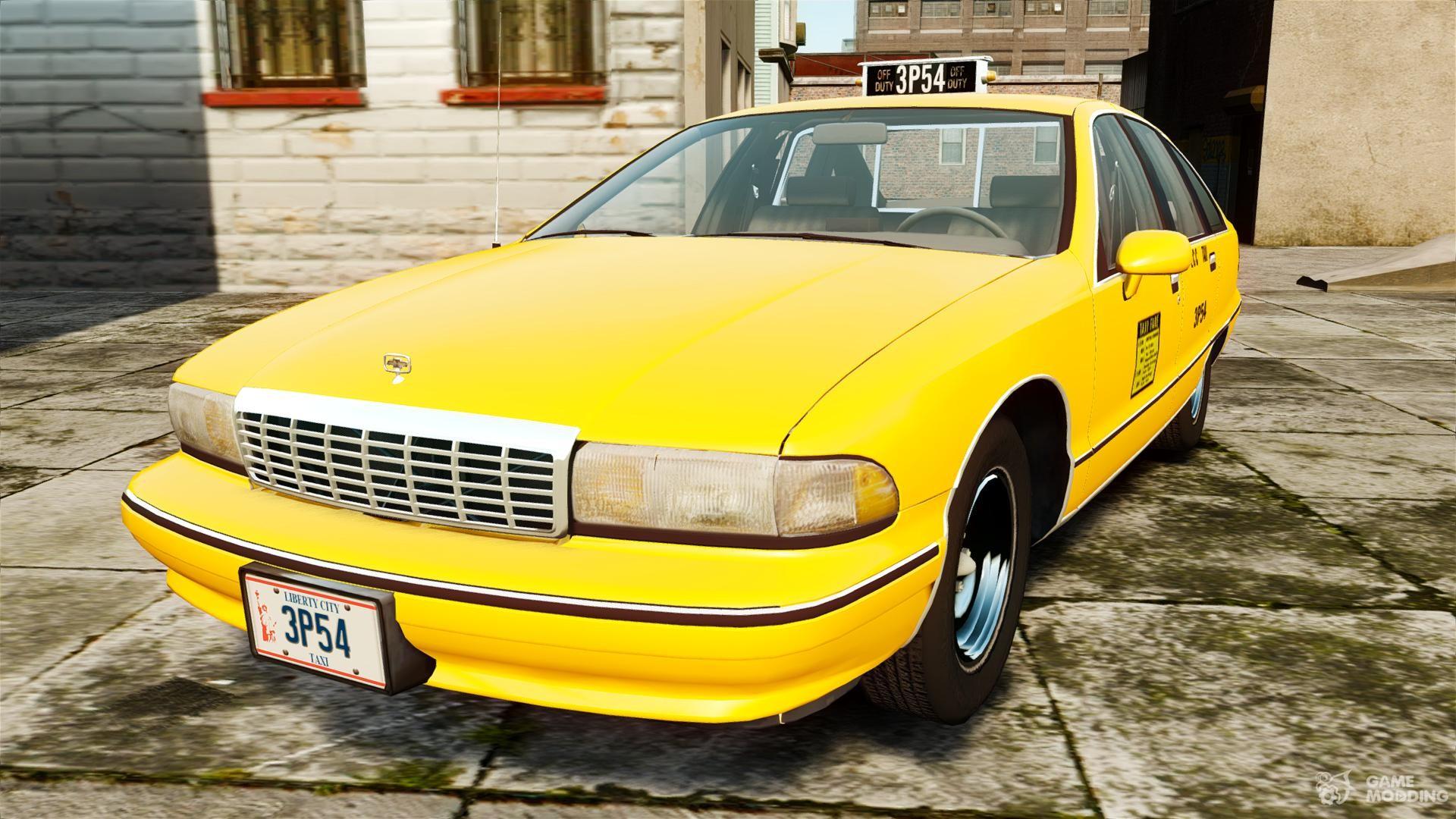 chevrolet такси