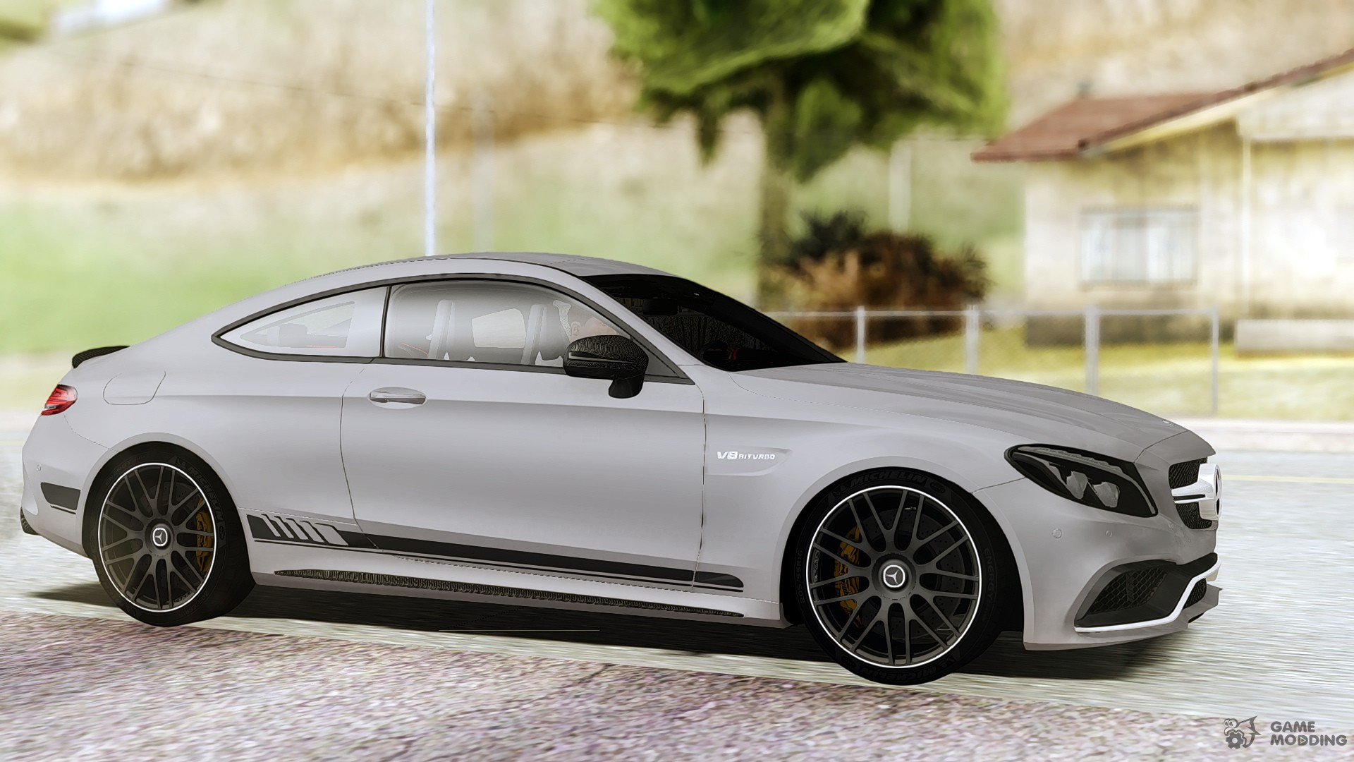 mercedes benz c63s amg coupe 2017 for gta san andreas. Black Bedroom Furniture Sets. Home Design Ideas