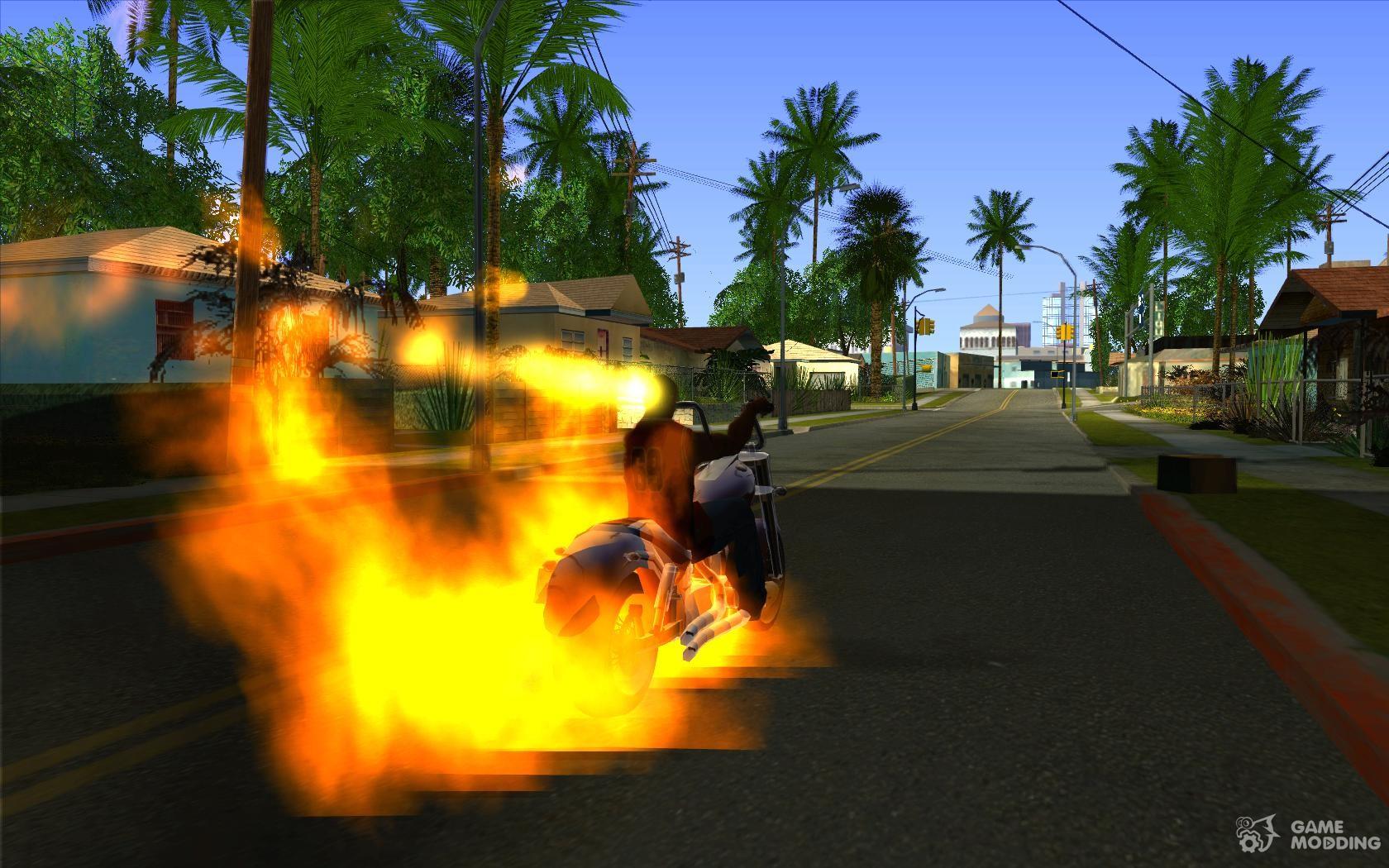 Gta San Andreas Ghost Rider Skin Mod Download - DVD Addict