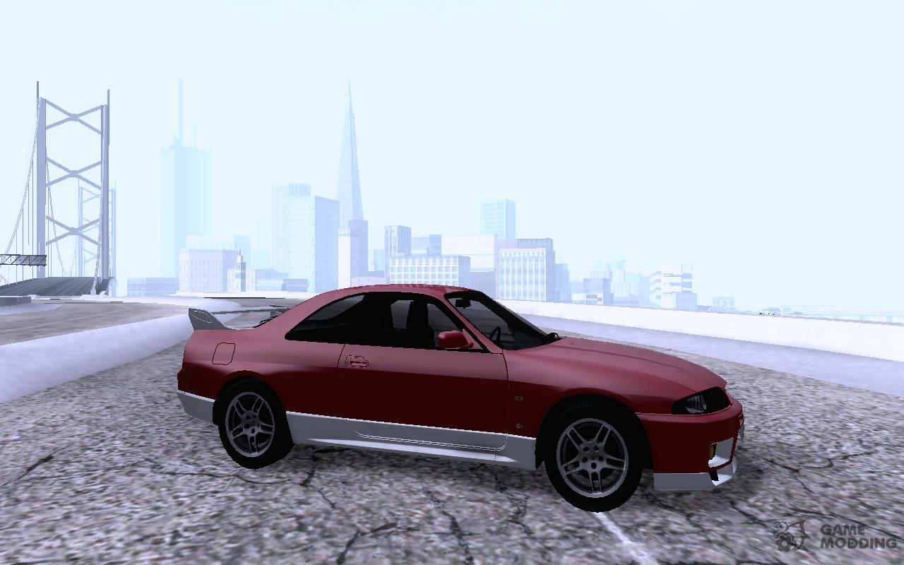 1998 Nissan GT-R R33 for GTA San Andreas