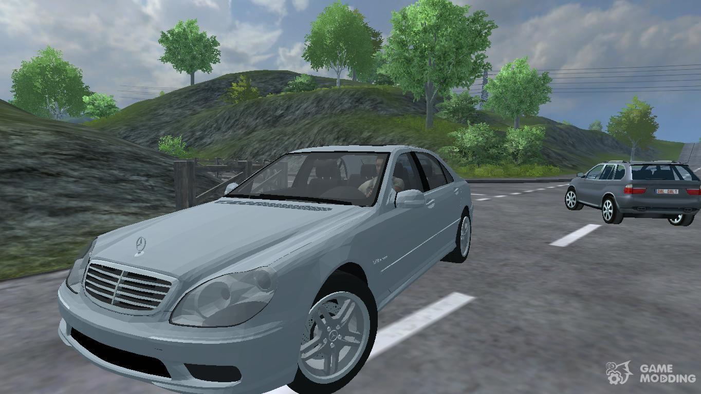 Mercedes benz s65 amg v12 biturbo w220 for farming for V12 mercedes benz