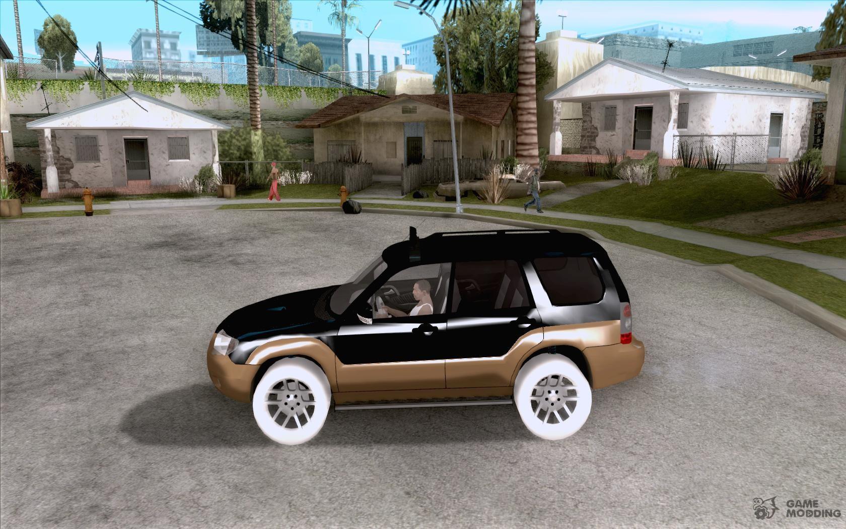 Subaru forester cross sport 2005 for gta san andreas subaru forester cross sport 2005 for gta san andreas left view vanachro Choice Image