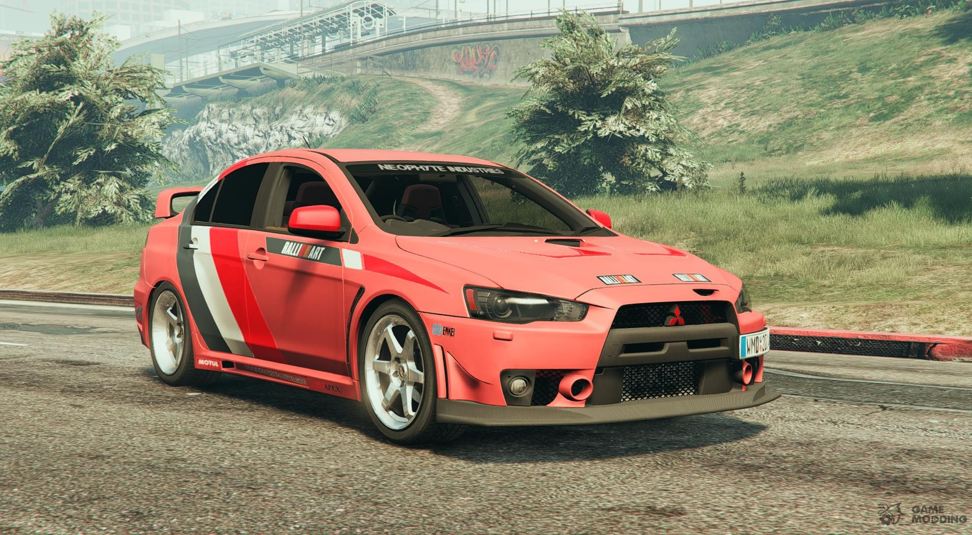 2010 mitsubishi lancer evo x fq 400 v1 2 for gta 5. Black Bedroom Furniture Sets. Home Design Ideas