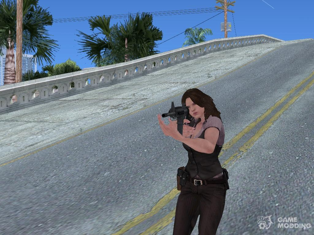 Animation from the game Resident Evil 6 for GTA San Andreas