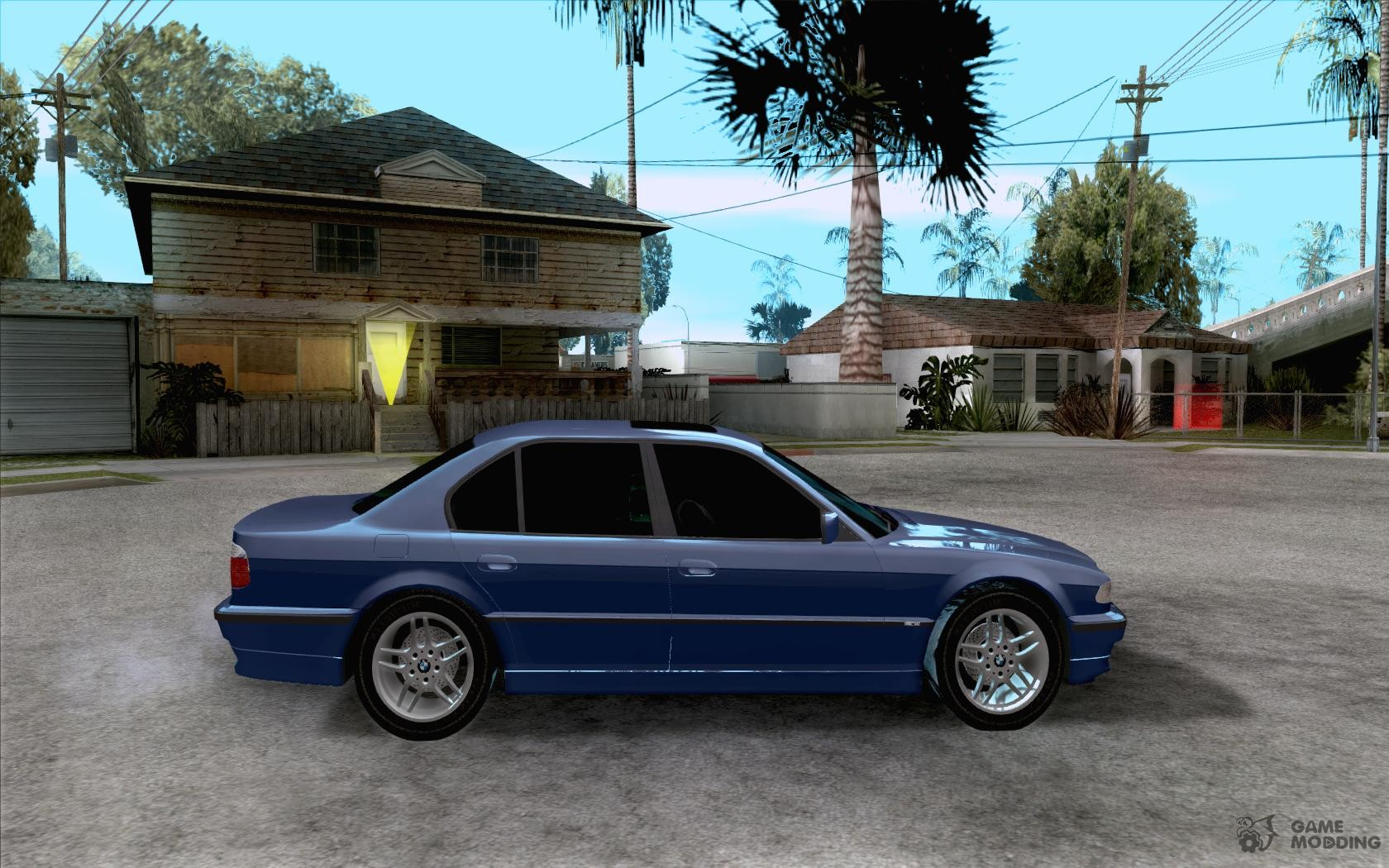 BMW 750i E38 2001 M Packet For GTA San Andreas Inside View