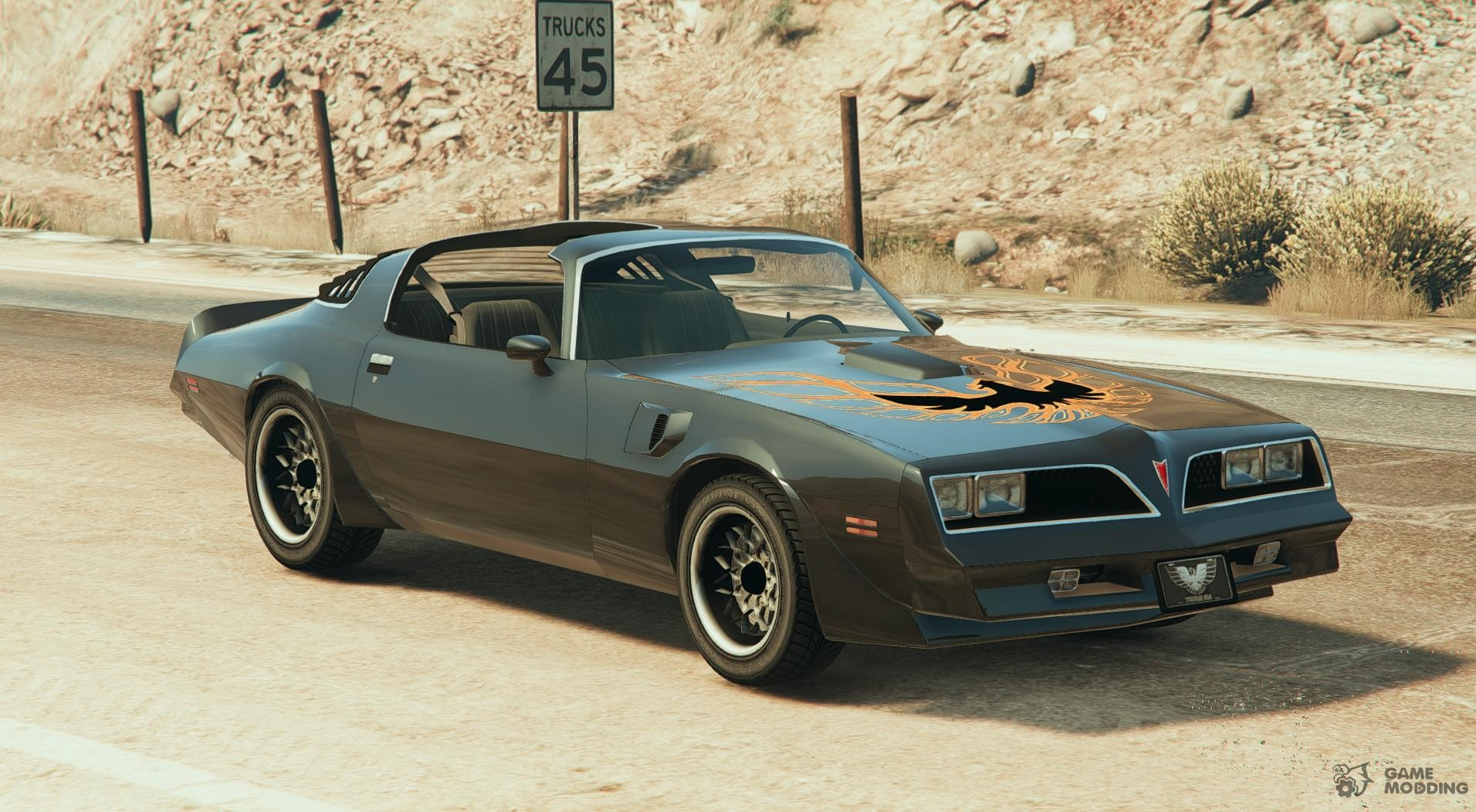 pontiac trans am 1977 3 0 for gta 5. Black Bedroom Furniture Sets. Home Design Ideas