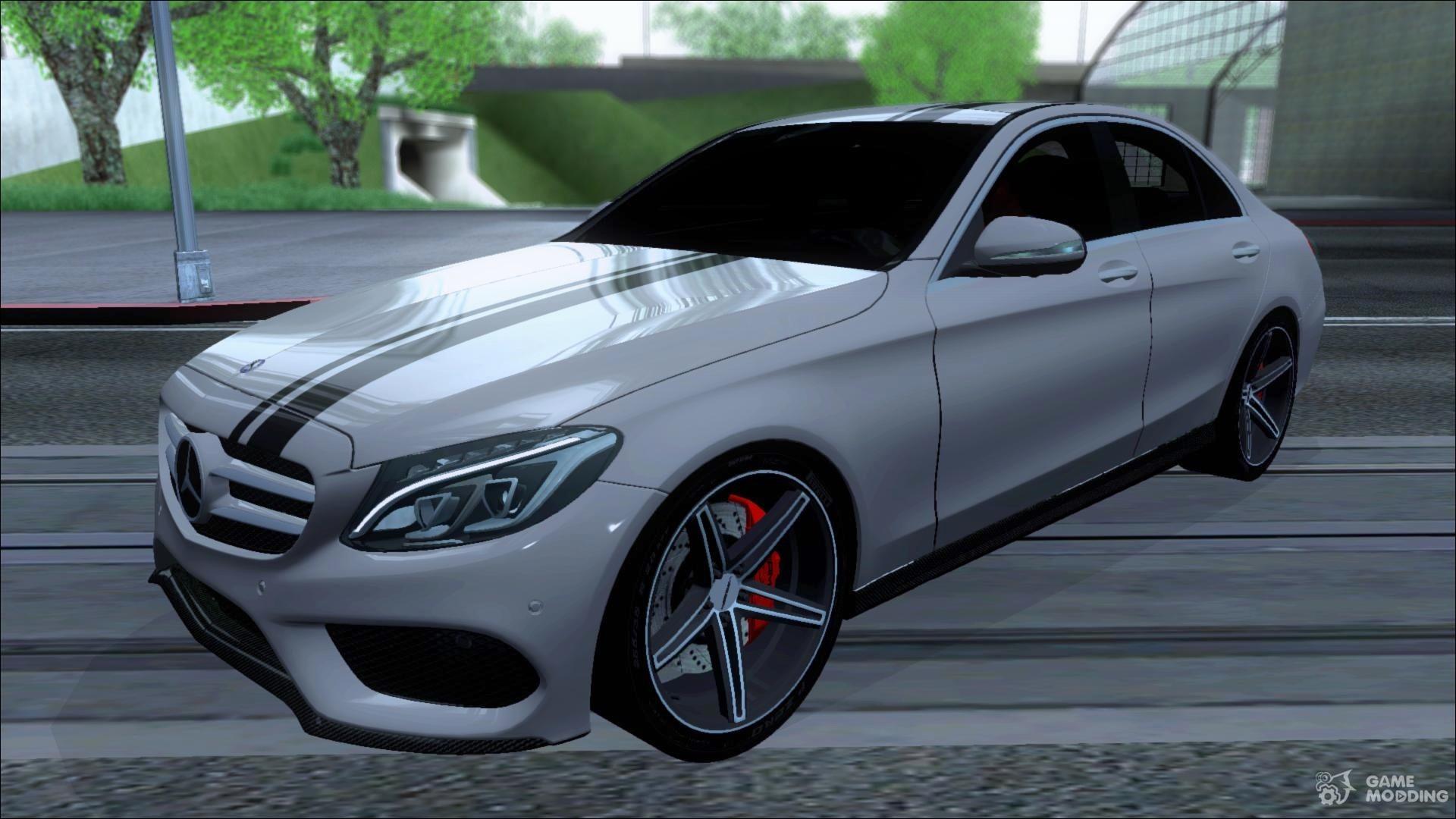 MercedesBenz C250 AMG Edition V 10 2014 for GTA San Andreas