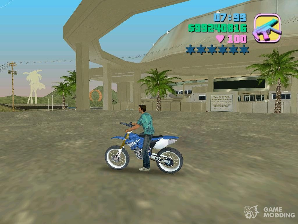 Gta vice city bike cheats