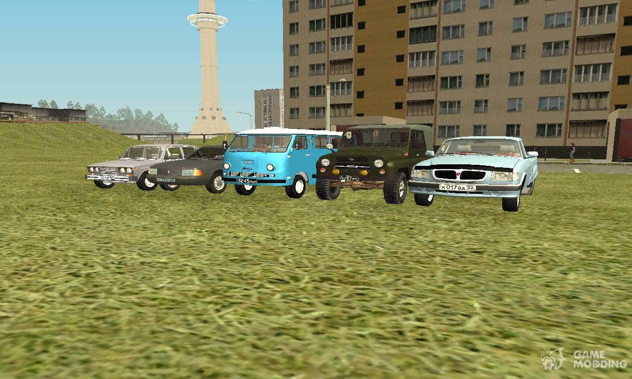 Бусаево v1. 0 (gta criminal russia beta 2) для gta san andreas.