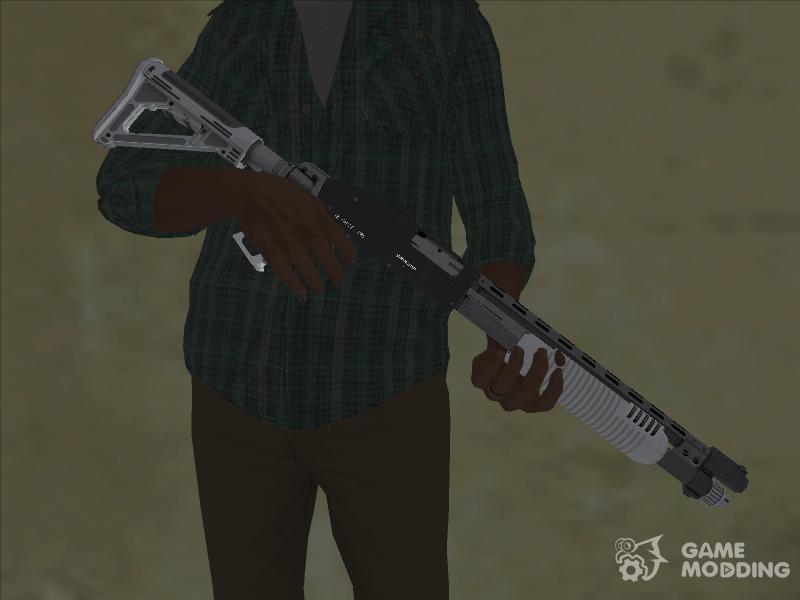 Weapon pack GTA V for GTA San Andreas