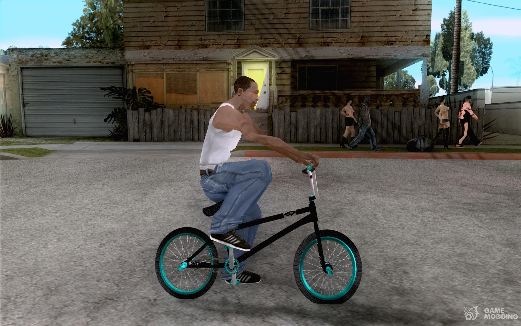 Real Street Bmx Mod Black Edition For Gta San Andreas