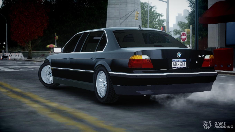 2001 BMW L7 (750IL E38) for GTA 4