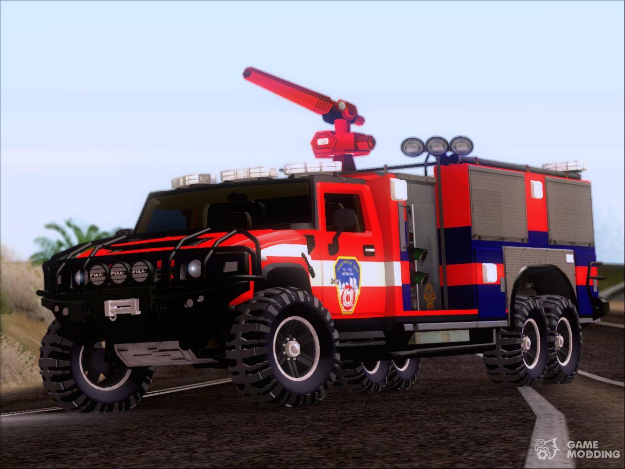 Firetruck For Gta San Andreas