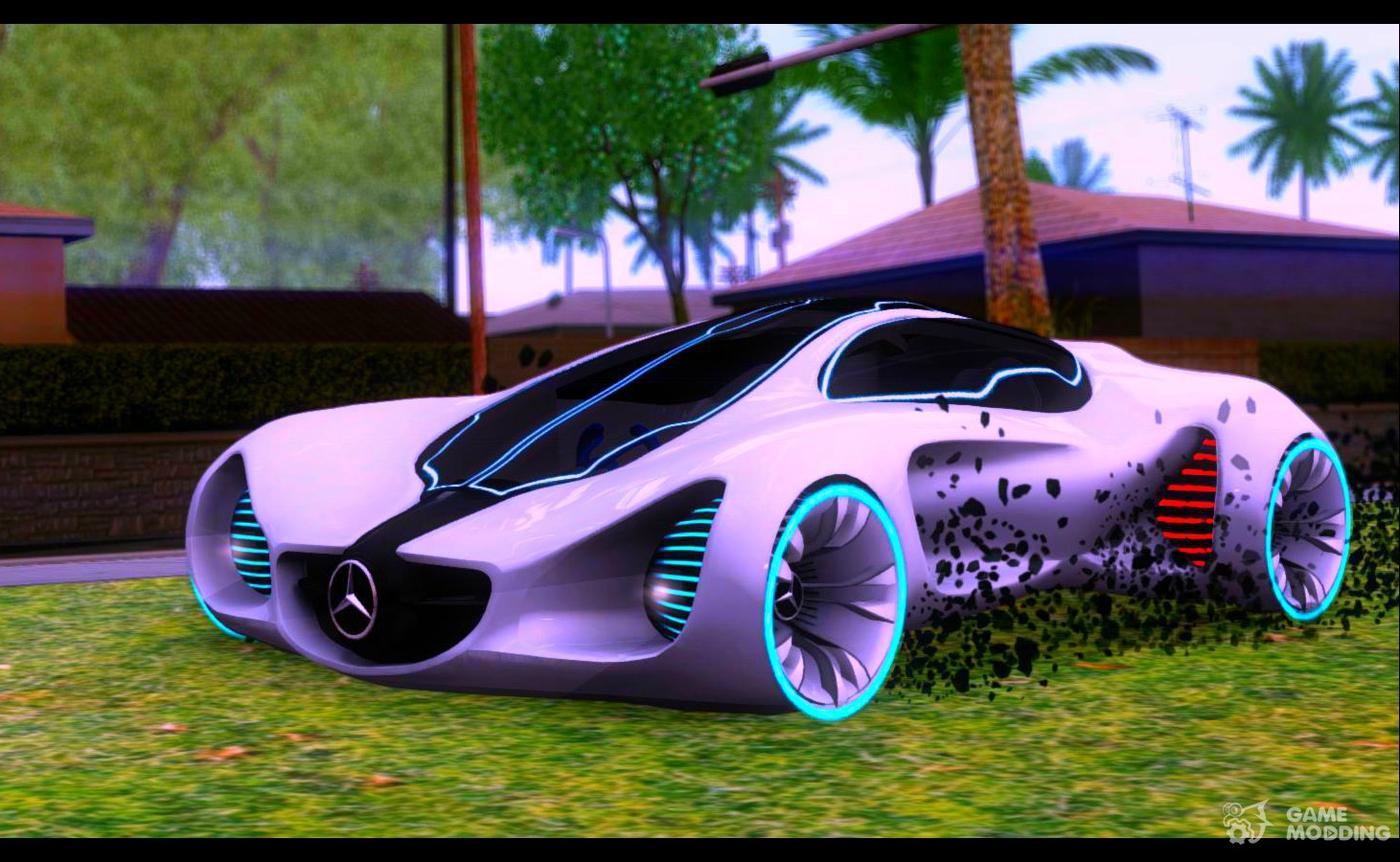 mercedes benz biome for gta san andreas