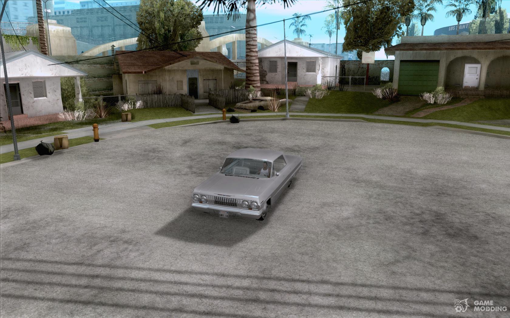 Chevrolet impala 4 door hardtop 1963 for gta san andreas - Chevrolet Impala 4 Door Hardtop 1963 For Gta San Andreas