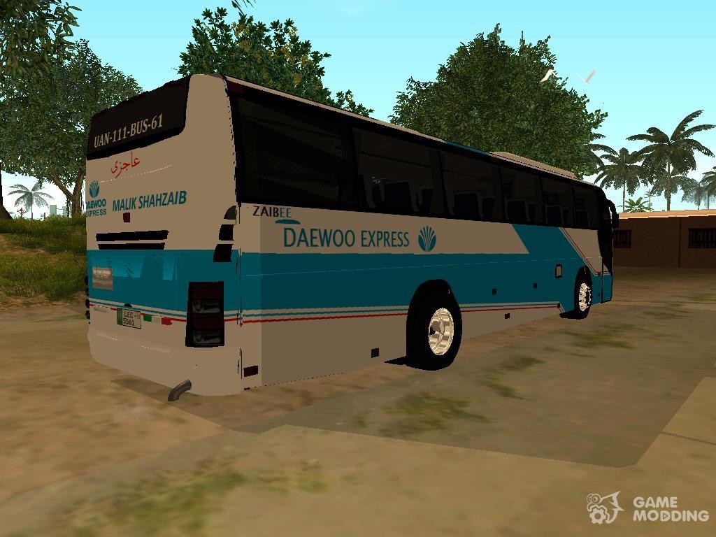 Daewoo Express Coach Zaibee for GTA San Andreas